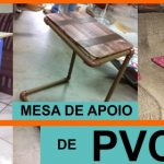 Como fazer mesa de apoio com tubo PVC