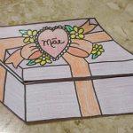 Cartão-Presente Lembrancinha de Dia das Mães