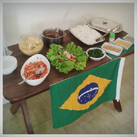 Decoração de casa Copa do Mundo Brasil