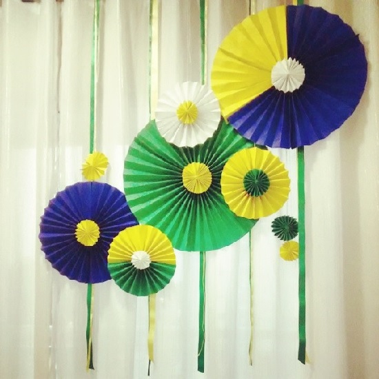 Como fazer decoração para Copa do Mundo torcida Brasil em casa