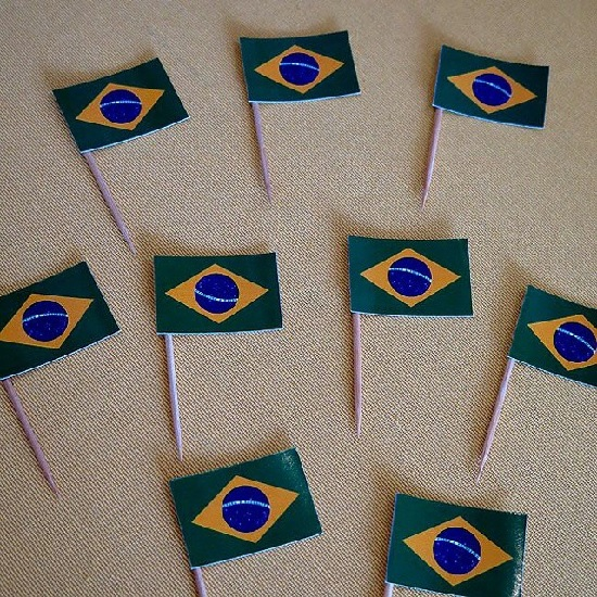 decorar a casa para a Copa do Mundo