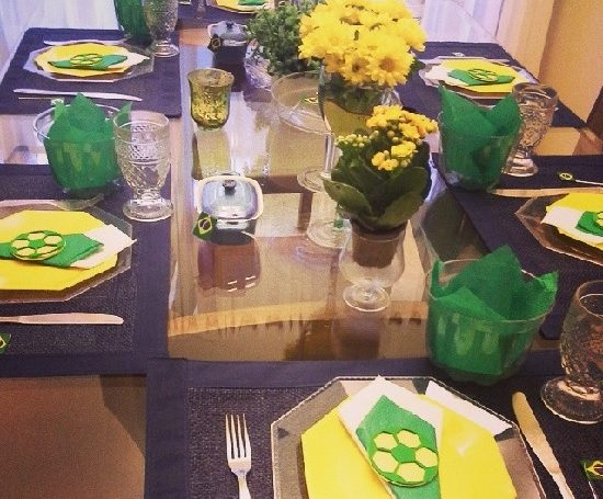 Como decorar a casa para a Copa do Mundo