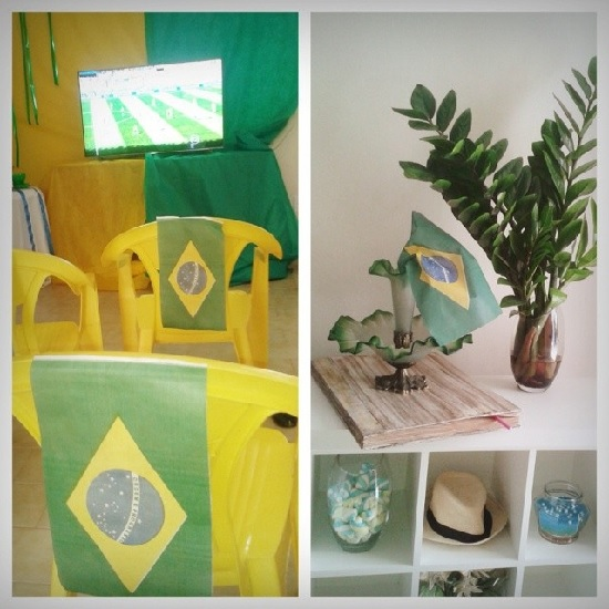Como decorar a casa para a Copa do Mundo