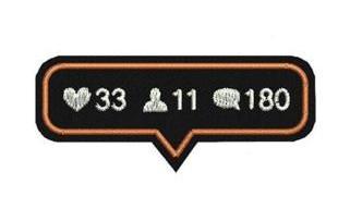 Ideias de patches para personalizar seu jeans - patch termocolante curtidas rede social