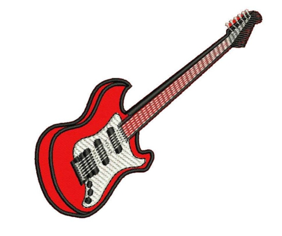 patche termocolante guitarra