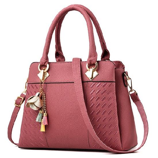 Bolsa cor de rosa