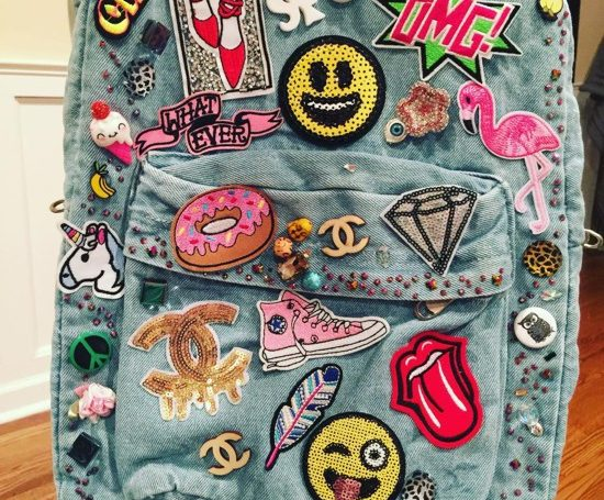 ideias de mochilas customizadas do Instagram