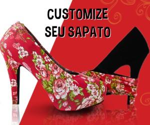 Customização de sapato com capa de sapato