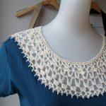 Como customizar camiseta com crochê