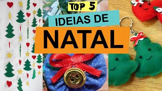 Ideias de Natal - decoração e artesanato faça você mesmo