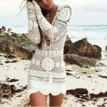 Inspiração: vestido branco de crochê