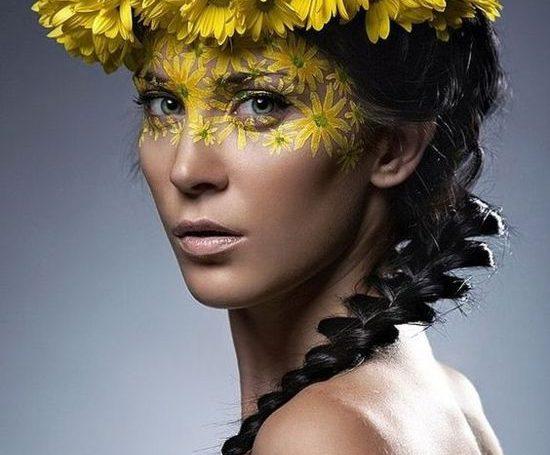 Como fazer coroa de flores com margaridas