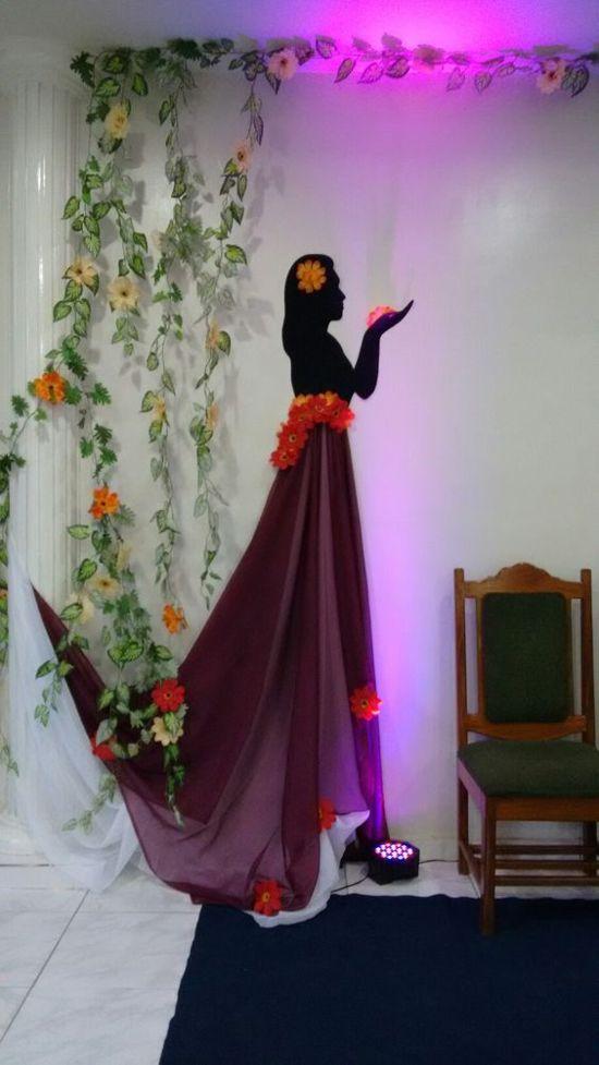 Decoração Dia da Mulher
