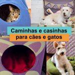 Como fazer casinha/caminha para gato ou cachorro sem gastar muito dinheiro