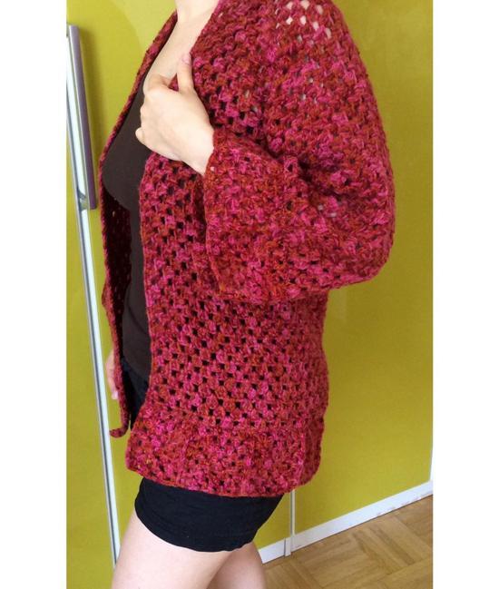 Ideias e modelos de casacos de crochê