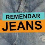Como remendar jeans