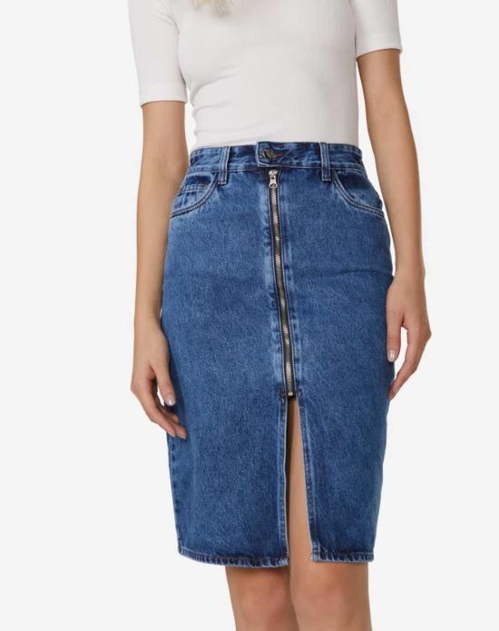 saias jeans diferentes