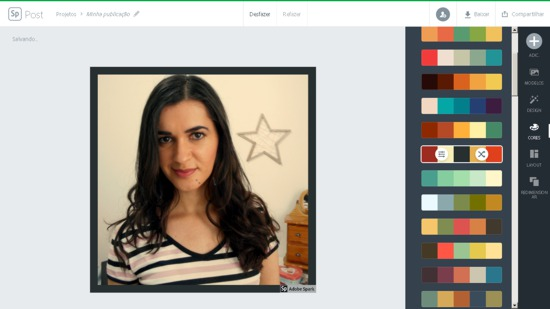 Adobe Spark editor de fotos