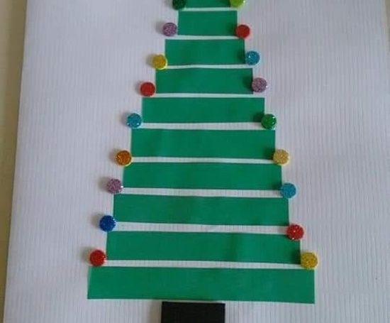 Confira ideias fáceis de cartões de natal que as crianças podem fazer.