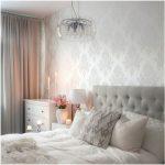 Decoração de quarto com papel de parede