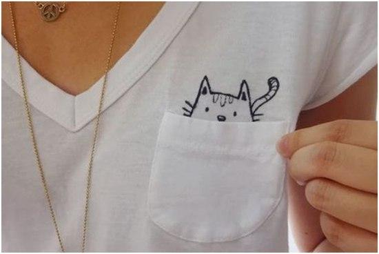 3 ideias de camisetas customizadas e passo a passo