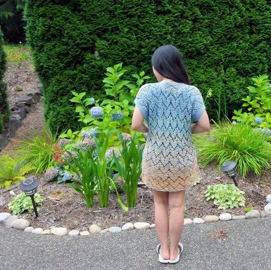 Kimono de crochê