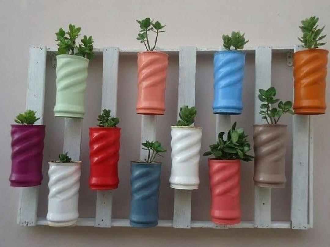 Decore a casa reaproveitando materiais