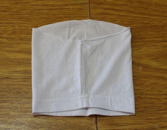 Como fazer máscara com camiseta passo a passo