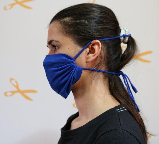 máscara que não machuca a orelha