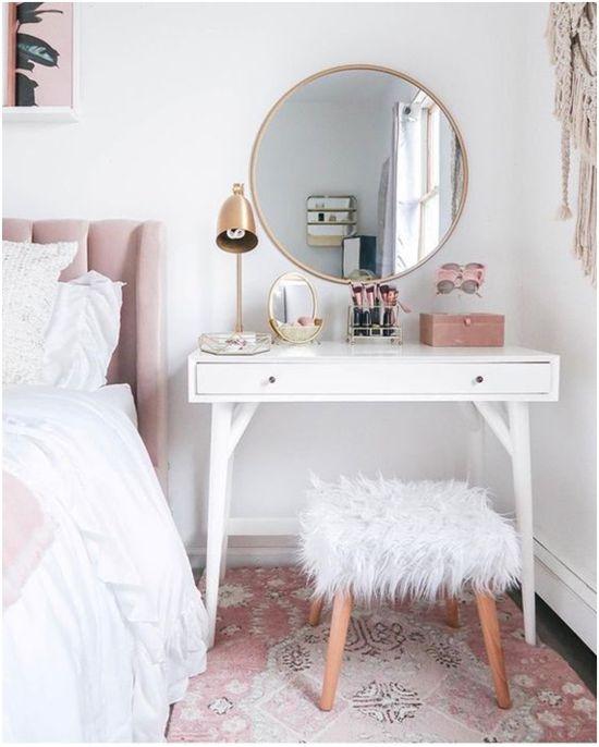 ideias de decoração quarto feminino
