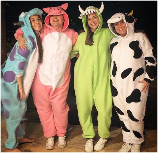 A moda dos pijamas divertidos