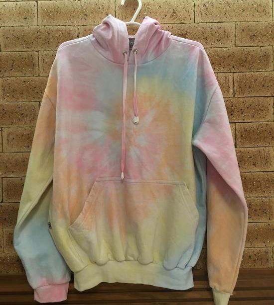 Inspiração: moletom tie dye