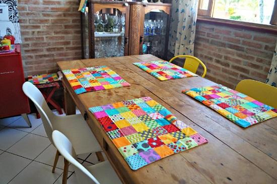 Como decorar com colchas de retalhos