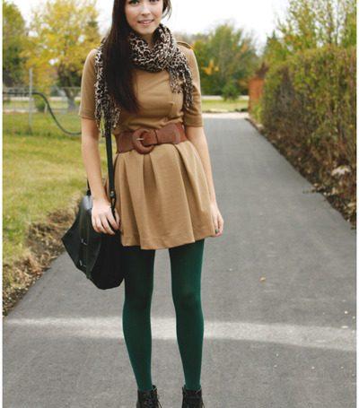 Inspiração: looks com meia-calça diferente e criativa