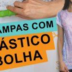Como estampar camiseta com plástico bolha