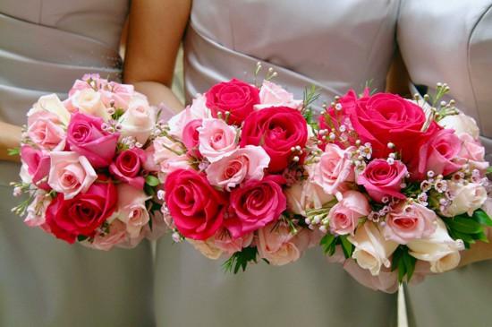 Como combinar buquê de noiva, madrinha e dama de honra