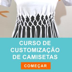 Curso Customização de Camisetas